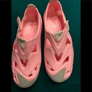 Ladies Speedo swimming shoes.